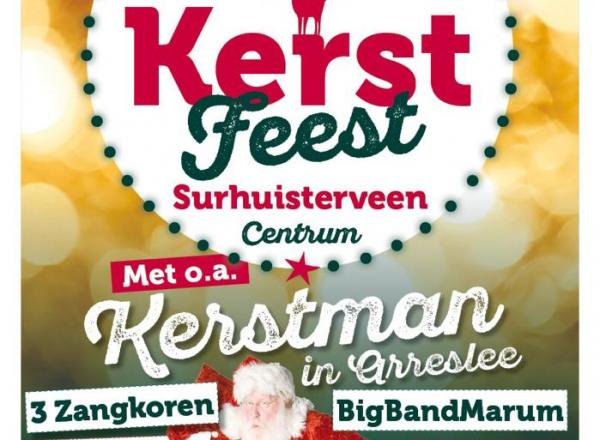 15 december Kerstfeest in Surhuisterveen