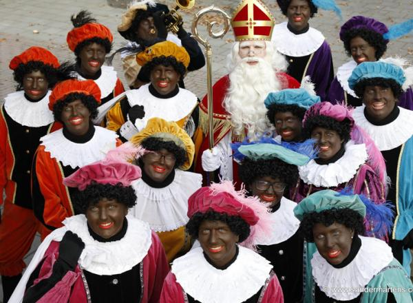 24 november Sinterklaas in het centrum